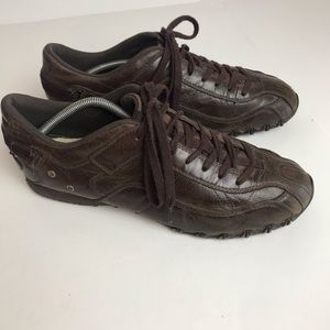 Diesel leather Viking lace up shoes excellent